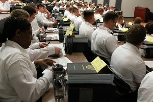 The Warden Joan Roggenbuck Class started training in March.