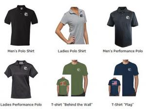 Just a few of the shifts available in MCO's online store.