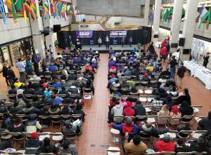 The SEIU Michigan State Council held a gubernatorial forum April 16, 2018.